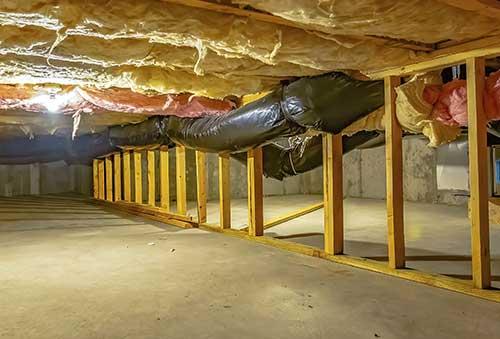 Enclosed Crawlspace
